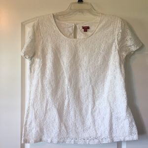 Gently used Women's lace top